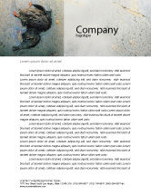 Nature & Environment: Water Pollution Letterhead Template #01828