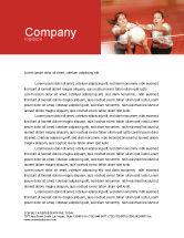 Sports: バレーボール - 無料レターヘッドテンプレート #01862