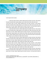 Abstract/Textures: Data Security Letterhead Template #01879