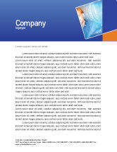 Technology, Science & Computers: Waves Letterhead Template #01888