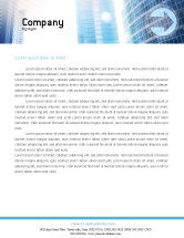 Telecommunication: Modern Telecommunication Letterhead Template #01926