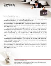Careers/Industry: Profit Letterhead Template #01928