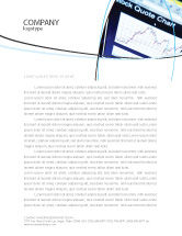 Financial/Accounting: Stock-Market Letterhead Template #01931