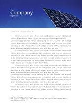 Technology, Science & Computers: Modelo de Papel Timbrado - painéis solares levantar poder #01936