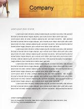 Careers/Industry: Draftsman Letterhead Template #01937