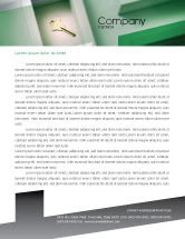 Business Concepts: Solution Letterhead Template #01946
