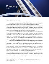 Cars/Transportation: Autobahn Interchange Gratis Briefpapier Template #01952