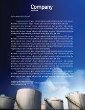 Utilities/Industrial: Fuel Tank Letterhead Template #01958