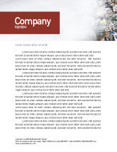 Nature & Environment: Recycle Industry Letterhead Template #01961