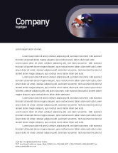 Business: Brandstof Gratis Briefpapier Template #01978