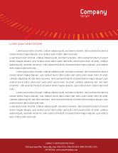 Cars/Transportation: Speedometer Letterhead Template #01985