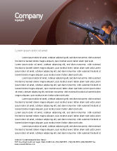 Education & Training: Astronomy Letterhead Template #01987