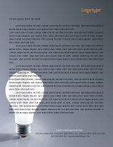 Business Concepts: Idea Letterhead Template #01989