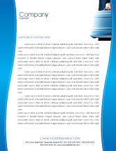Business Concepts: Suitcase  Letterhead Template #01996