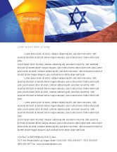 Flags/International: Flag of Israel Letterhead Template #02002