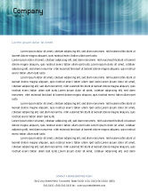 Technology, Science & Computers: 3D Head Model Letterhead Template #02013