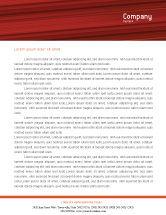Sports: フェンシング - 無料レターヘッドテンプレート #02038