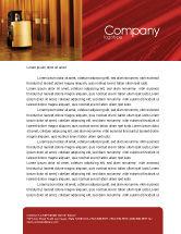 Utilities/Industrial: Paper-Mill Letterhead Template #02047