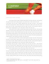 Sports: Race Letterhead Template #02056