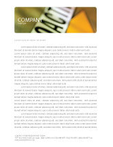 Utilities/Industrial: Radioactive Letterhead Template #02111