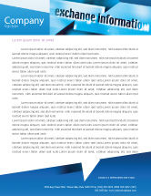 Telecommunication: Information Exchange Letterhead Template #02125