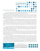 Telecommunication: Telecommunication Systems Letterhead Template #02168