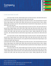 Telecommunication: Internet Switch Letterhead Template #02170