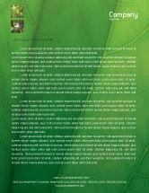 Nature & Environment: Botany Letterhead Template #02176