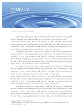 Nature & Environment: Water Purification Letterhead Template #02190