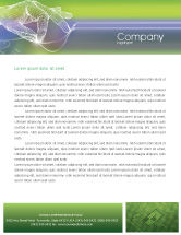 Telecommunication: Technology Letterhead Template #02203