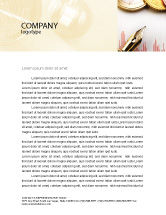 Financial/Accounting: Financial Review Letterhead Template #02260