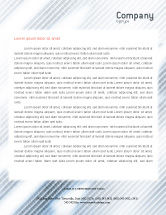 Technology, Science & Computers: Abstract Pointers On Grid Surface Letterhead Template #02264