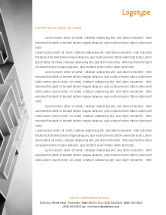Business Concepts: Gray Labyrinth Letterhead Template #02270