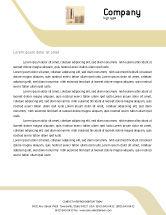 Financial/Accounting: Dollars Letterhead Template #02283