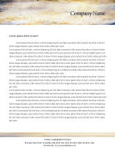 Art & Entertainment: Palet Briefpapier Template #02287