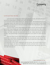 Business Concepts: Savings and Credits Letterhead Template #02289