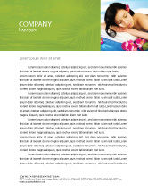 Holiday/Special Occasion: Spa Letterhead Template #02307