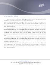 Careers/Industry: Dinner Letterhead Template #02312