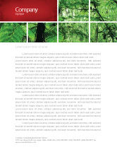 Nature & Environment: Tropical Forest Letterhead Template #02355