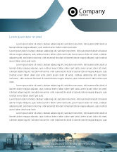 Utilities/Industrial: Power Station Letterhead Template #02362