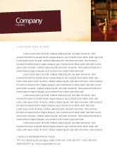 Legal: Juridical Letterhead Template #02373