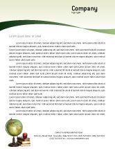 Education & Training: Task Letterhead Template #02383