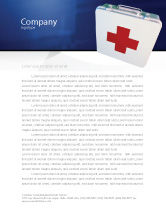 Medical: First Aid Letterhead Template #02490