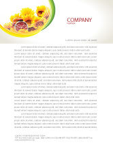 Medical: Country Life Letterhead Template #02498