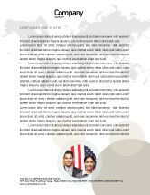 Global: Glass Globe Letterhead Template #02509