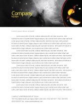 Education & Training: Open Space Letterhead Template #02517
