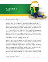 Education & Training: Child's play Letterhead Template #02520