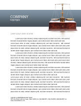 Legal: Judicial Letterhead Template #02523