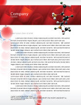 Technology, Science & Computers: Genetically Recombinant Medicine Letterhead Template #02526