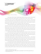 Nature & Environment: Global Warming Letterhead Template #02536